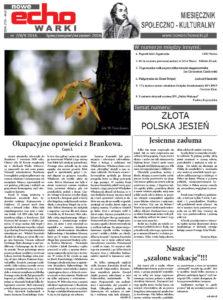 Lipiec - Sierpień - Wrzesień 2016