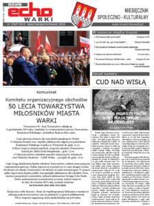 Lipiec - Sierpień - Wrzesień 2015