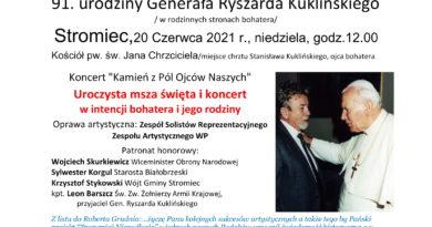 """""""Zrozumieć Niepodległą""""- 91 urodziny Generała Ryszarda Kuklińskiego"""