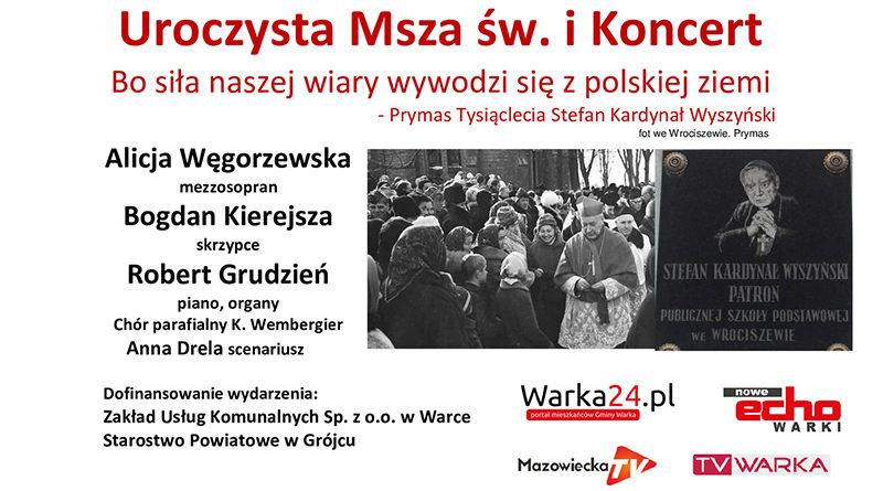 Uroczysta Msza św. i koncert Wrociszew